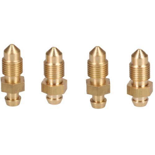 Purge de l/'étrier de frein en laiton mamelon purge d/'Bleedscrew vis M10x1mm 4pc