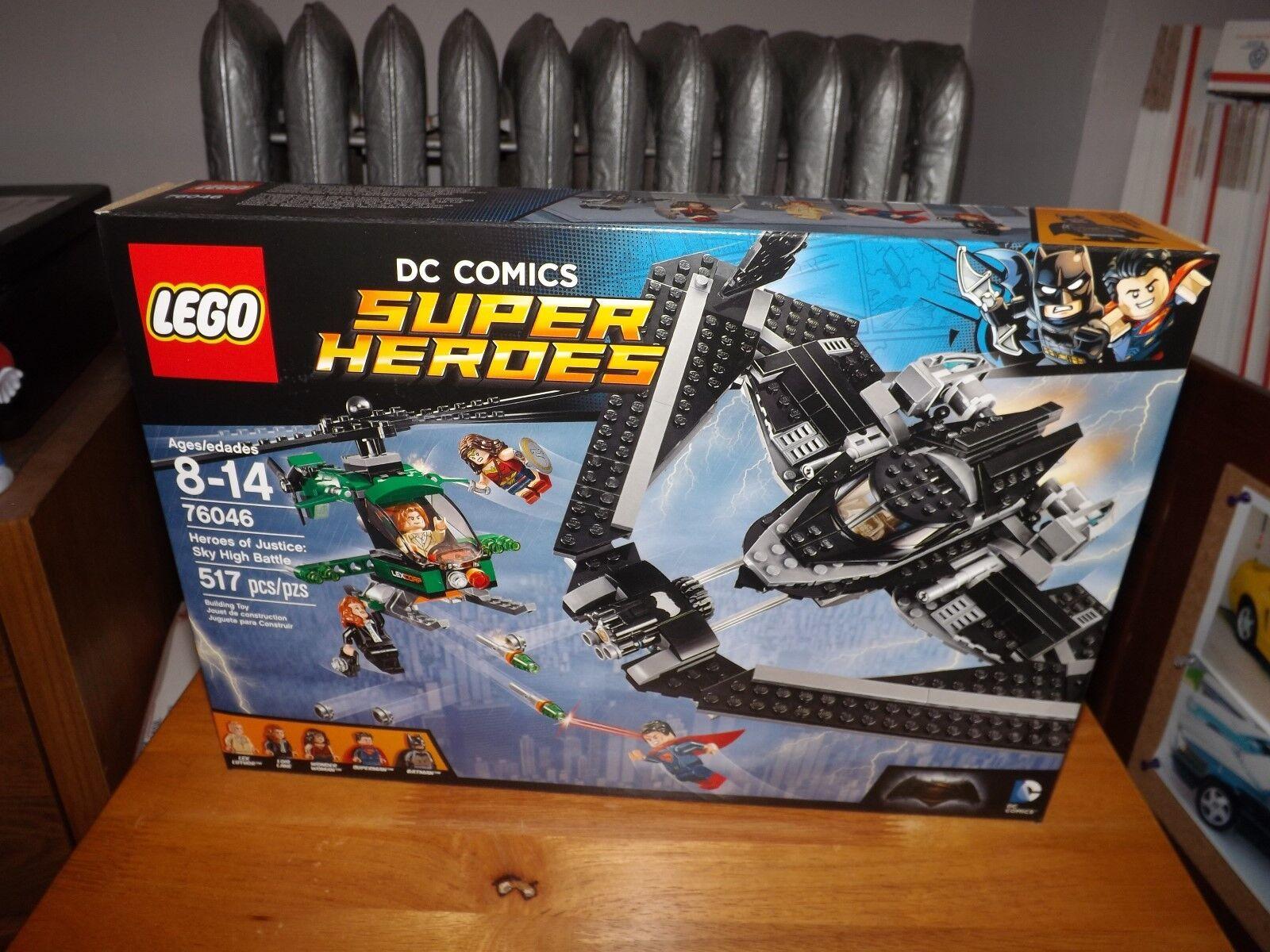 LEGO DC COMICS SUPER HEROES, HEROES OF JUSTICE SKY HIGH BATTLE  76046, NIB 2016
