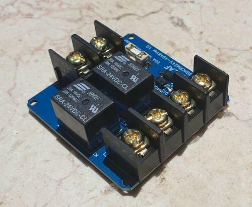 Single Channel Relay Module Solar Panel Sun Tracking Control Board DIY 24V 20A