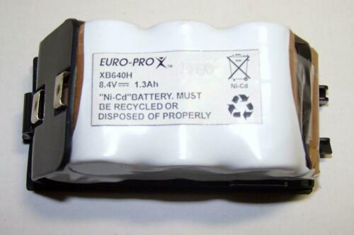 NEW Genuine OEM Euro-Pro Shark 8.4V 1.3Ah Battery XB640H for UV647 UV640 UV617