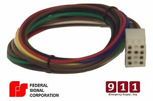Federal Signal Replacement Siren Power Harness Plug Cable 12 Pin 1 on police siren, aca p-50 siren, federal warning siren, manual siren, first fd siren, q2 siren, sa-430 siren, federal model 2 siren, pa200 siren, low frequency siren, 300 watt siren, hi lo siren, q2a siren, hard hat siren, electronic siren, air horn siren, warwitch siren, mechanical siren,