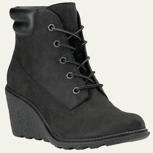 timberland s amston 6 inch wedge heels boots 8253a