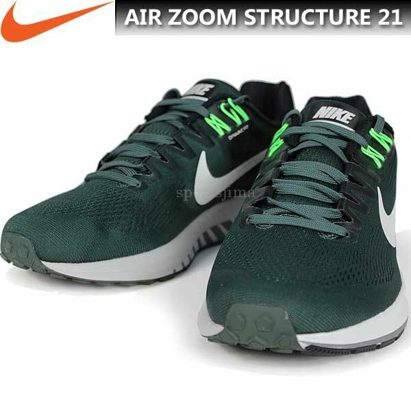huge discount 14153 cd3de NWT NWT NWT Nike zoom structure 21 men s running shoes trainers sz 11  Vintage Green e5b6fe NIKE AIR ...