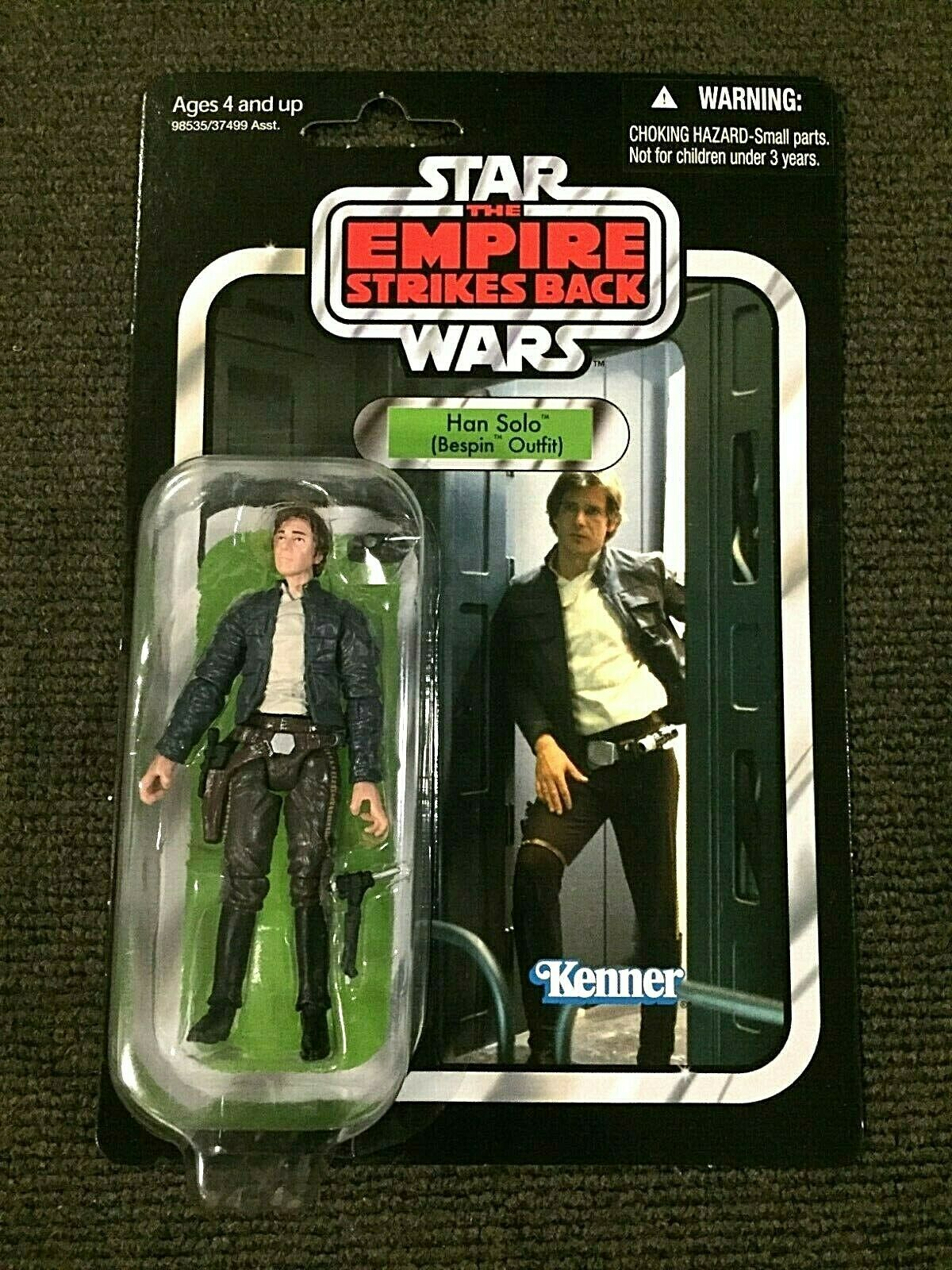 Han Solo Bespin Outfit VC50 Star Wars Vintage Collection Action Figure - VGC