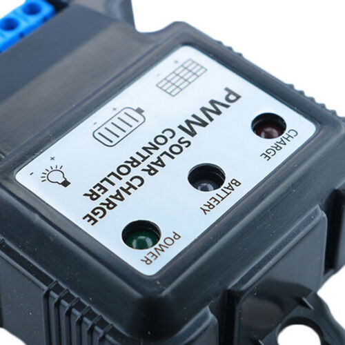 6V 12V 10A Solar Panel Charge Controller Battery Charger Regulator PWM ASS