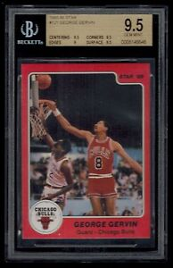 1985-86-Star-GEORGE-GERVIN-card-121-BGS-graded-9-5