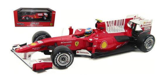 Mattel Hot Wheels Ferrari F10 Bahrain GP 2010 - Fernando Alonso 1 43 Scale