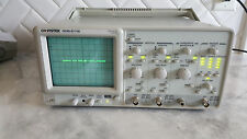 GW Instek GOS-6112 2-Channel 100MHz Curser Readout Analog Oscilloscope TESTED!!