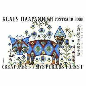 Klaus-Haapaniemi-Creatures-in-a-Mysterious-Forest-Postcard-Book-Jap