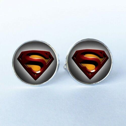 UK Iron Man Deadpool Hulk Superman Batman Battlestar Super Hero Cufflinks