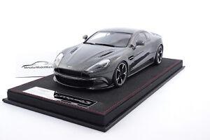 As018 99 Frontiart Aston Martin Vanquish S Ceramic Grey 1 18 Ebay
