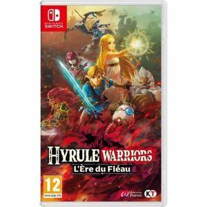 Hyrule-Warriors-L-039-ere-du-Fleau-Nintendo-Switch-NEUF-et-SCELLE-dans-sa-boite