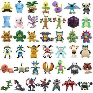 Pokemon-Pikachu-Drowzee-Pancham-Mew-Lucario-Dodrio-Rayquaza-Plush-Toy-Optional
