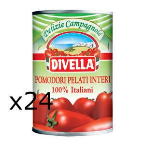 DIVELLA-POMODORI-PELATI-100-PRODOTTO-ITALIANO-24-BARATTOLI-DA-400gr