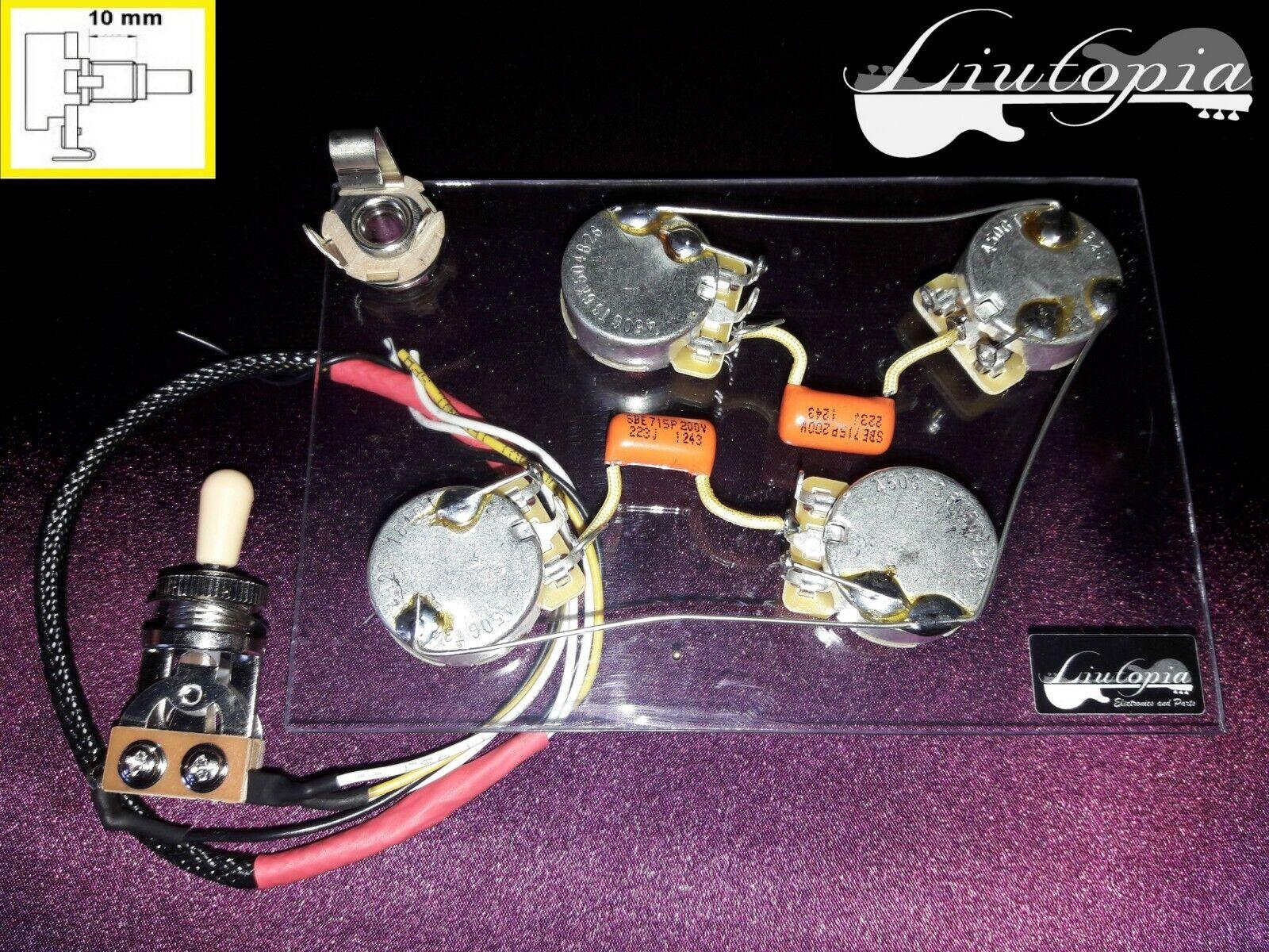 PER GIBSON LES PAUL - CABLAGGIO ALTA QUALITA' - present present present wiring - 973b76