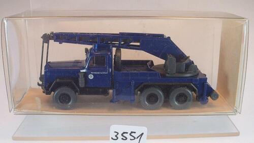 24 694 Magirus KW 15 Kranwagen THW Technisches Hilfsw OVP #3551 Wiking 1//87 Nr