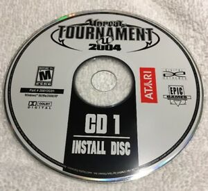 Unreal Tournament 2004 - PC CD ROM-CD 1 Replacement ...