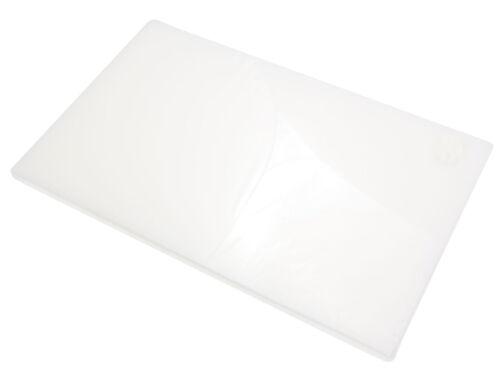 Schneidebrett weiß GN 1//1-52,5x32,5x2 cm Hackbrett Küchenbrett Zubereitung