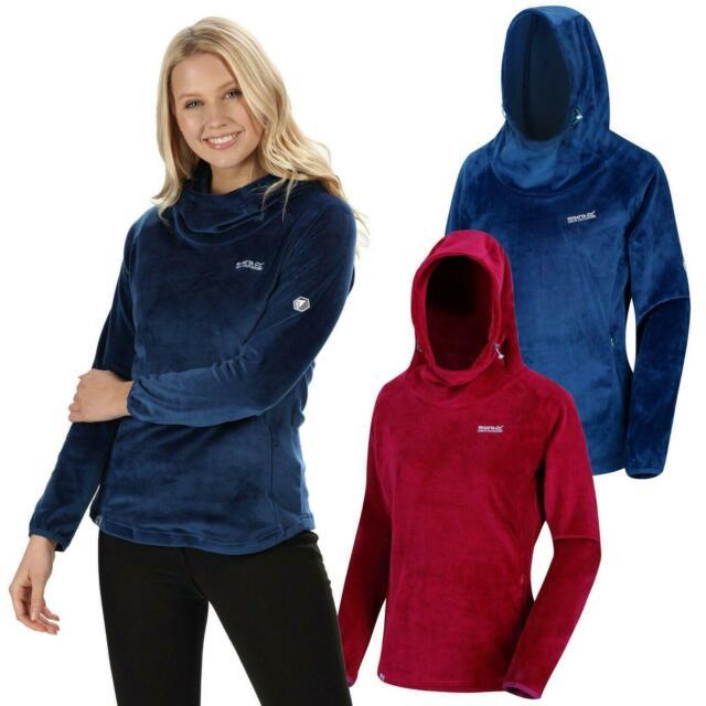 Blue Sapphire Regatta Womens Radmilla Mid Weight Overhead Fleece Sweater