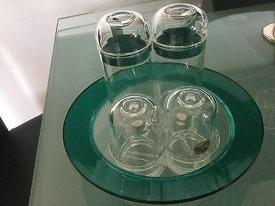 Essig-Öl Salz-pfeffer Set Useful Original Guzzini Design Menage 131