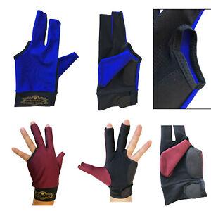 2019-Champion-Cut-3-finger-Pool-Cue-Stick-Glove-Left-hand-Predator-Blue-Wine
