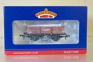 BACHMANN 38-451 WEATHERED BR BAUXITE 13 ton HIGH SIDED WAGON B479390 HIGHBAR py