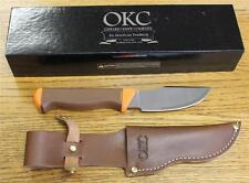 NEW Ontario Knife Company 7536 Keuka Hunter Fixed Blade Knife & Leather Sheath
