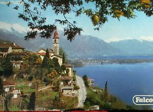 Rare Vintage FALCON 2000 Piece Jigsaw Puzzle LAKE MAGGOIRE ITALY SEALED CONTENTS