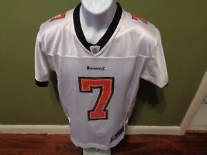 Tampa Bay Buccaneers  7 Jeff Garcia Reebok Youth LARGE NFL WHITE ... 90ceb5629