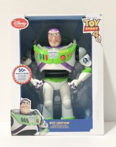 Disney-Collection-Toy-Story-4-Talking-Buzz-Lightyear-12-039-Action-Figure-NIB