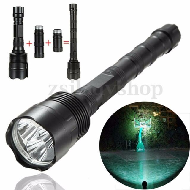 New 34000LM 3x T6 LED Rechargeable 18650 Flashlight Torch Lamp