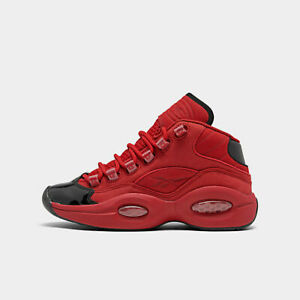 Reebok-Question-Mid-Allen-Iverson-Heart-Over-Hype-Red-Black-Big-Kids-Size-7