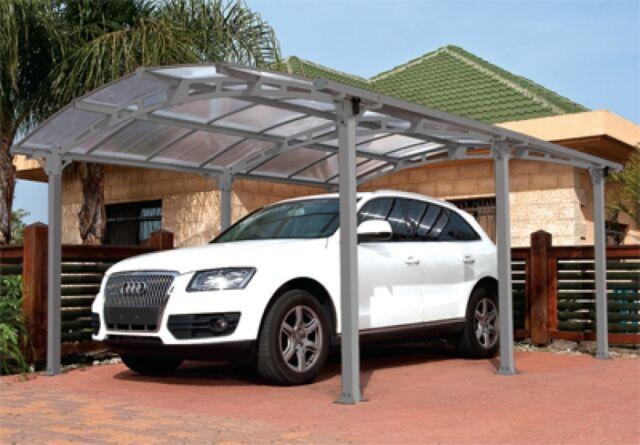 Carport Arcadia 5000 Tepro Aluminium / Kunststoff 362x502x242cm
