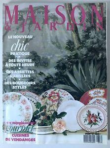 Details zu Maison & Jardin N° 357 1989 SAMMLER ZEITSCHRIFT 90s interior  magazine