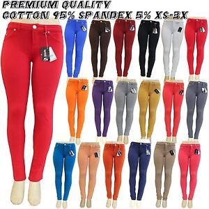 New-Colors-Sexy-Skinny-Jeggings-Moleton-Brazilian-Stretch-Leggins-pants-12-15OZ