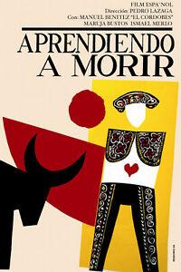 1269-Quality-Design-political-POSTER-Torero-Bullfight-Interior-home-design-art