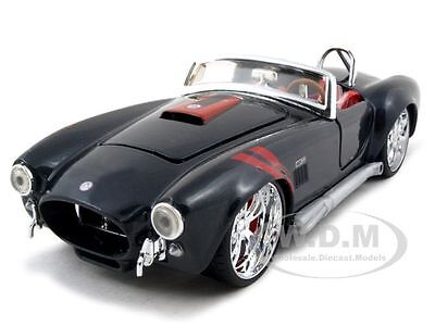 1965 SHELBY COBRA 427 BLACK 1:24 DIECAST CAR MODEL BY MAISTO 31325