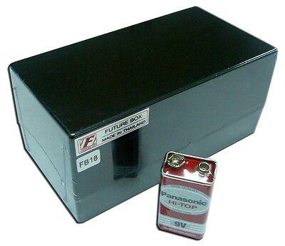 Project ABS Plastic Box Case Black Size 63x115x23 mm. FB17