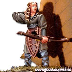Mithril Le Seigneur des Anneaux - Femme des bois avec arc M403