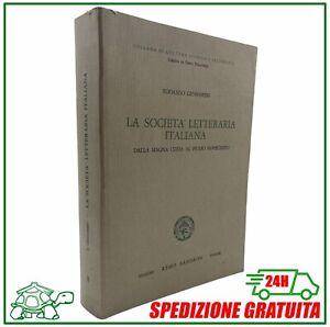 ✅ La societa letteraria italiana dalla Magna Curia al primo Novecento Gennarini