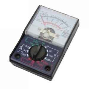 1000V Voltmeter DC//AC 250mA Ammeter 1K Resistance Meter Analog Multimeter Too BA