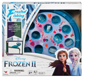 Disney Frozen 2 Frosted Fishing Family Board Game