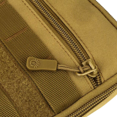 Outdoor Tactical MOLLE Utility Sports Waist Bag Phone Pouch Holster Shoulder Bag