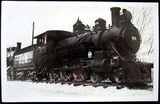 **1940's MIDLAND PACIFIC LOCOMOTIVE # 635 ~ Real Photo  RPPC