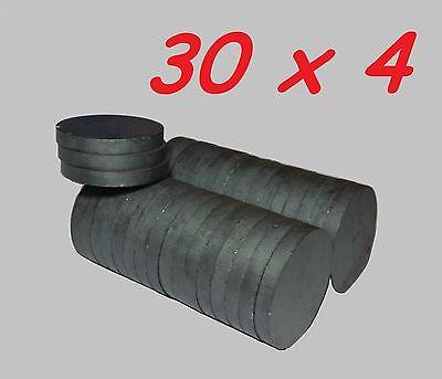 5 MAGNETI FERRITE 20X3 MM CALAMITA POTENTE FIMO CERAMICA MAGNETE CALAMITE