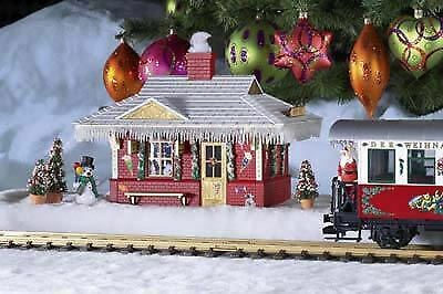 PIKO G SCALE NORTH POLE STATION BUILT-UP | BN | 62265