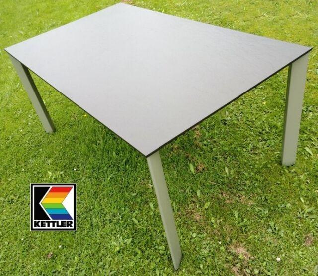 Kettler Gartentisch Lofttisch 160x95x72cm Kakisilber Wie Bronze