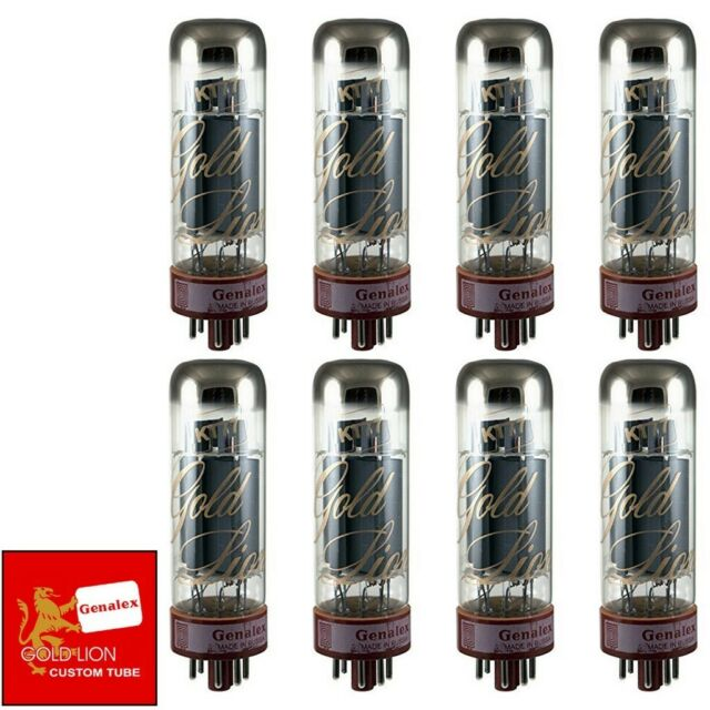 Brand New Genalex Reissue KT77 KT-77 Current Matched Octet (8) Vacuum Tubes