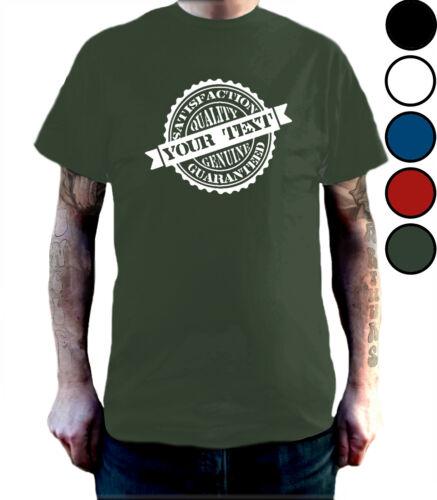 Rubber Stamp T Shirt Add Your Own Word//Job Carer Driver Plumber Teacher Etc
