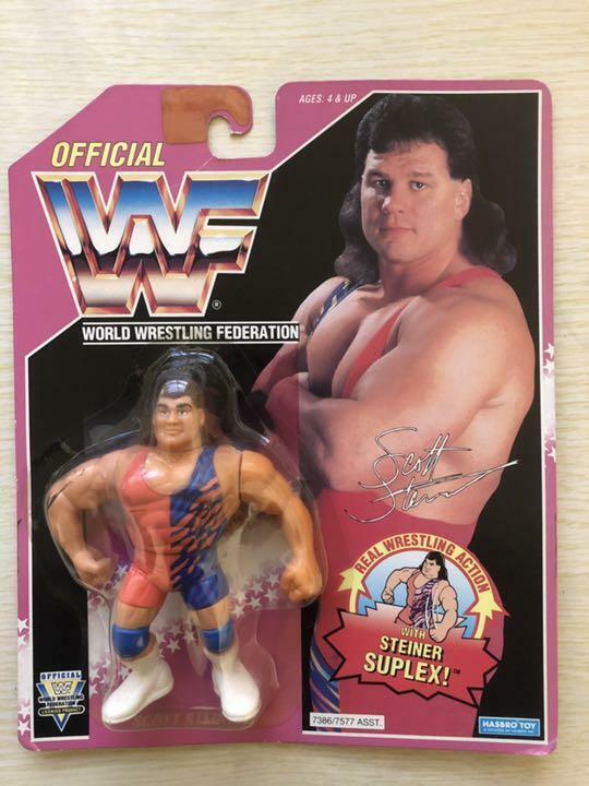 Hasbro WWF Wrestling Scott Steiner STEINER SUPLEX cifra Unopend  11895